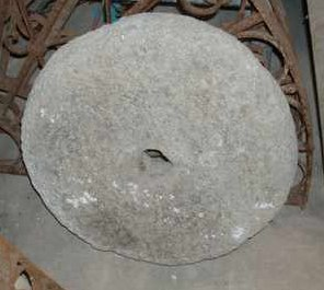 Antique French Millstones