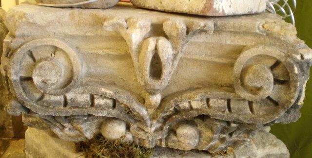 Antique Stone Capitals