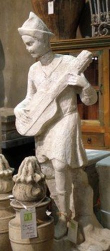 Statue of a Musician
