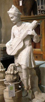 Statue of a Musician