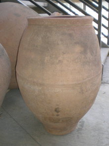 Antique SpanishTerracotta Pot