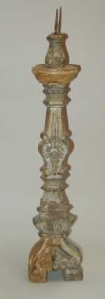 Antique Portuguese Candlestick