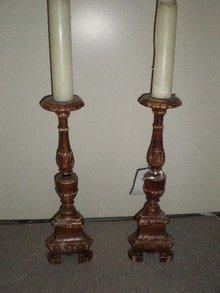 Pair of Italian Altar Sticks
