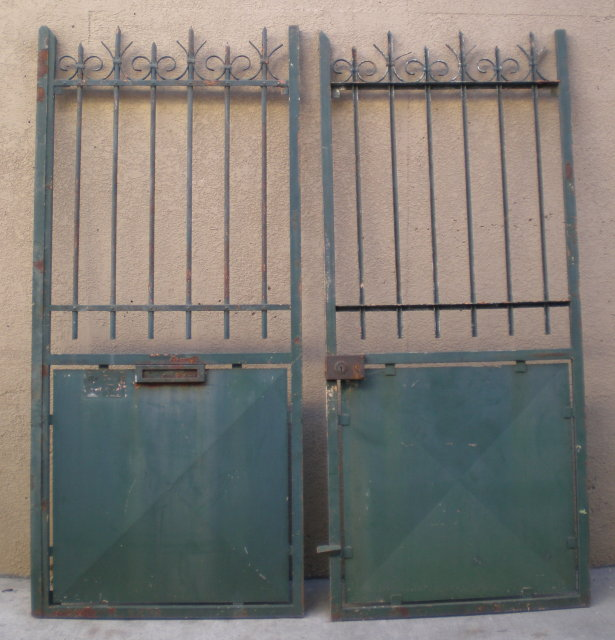 Pair of French Garden Gates