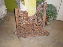 Pair of Victorian Cast Iron Brackets