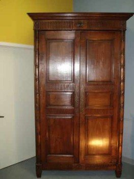 Louis XVI Walnut Armoire