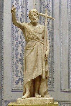 Statue of St. Jean Baptiste