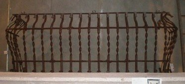 Antique Spanish Iron Balcony