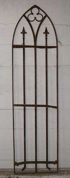 French Wrought Iron  Arched Panels
