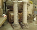 Pait of Antique Stone Columns