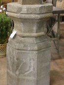 Octagonal Stone Pedestal
