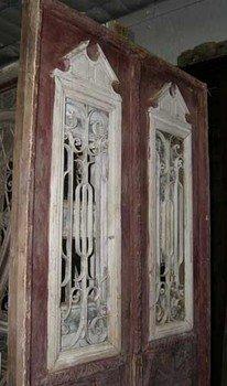 French Pine Double Doors