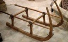 Antique French Sled