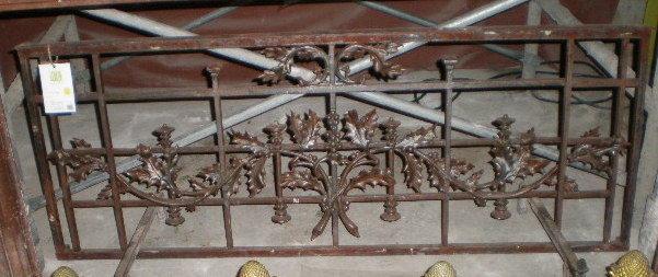Parisian Iron Balcony Rail