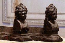 Antique Figural Andirons