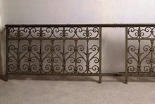 Antique Cast Iron Balcony