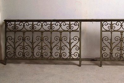 Antique Cast Iron Balcony