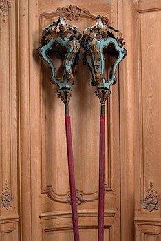Pair of Rococo Style Venetian Lanterns