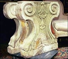 Pair of Antique Stone Corbels