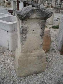 Arched Top Stone Marker
