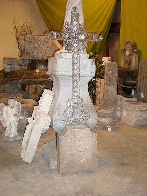 Stone & Iron Abbey Memorial Cross