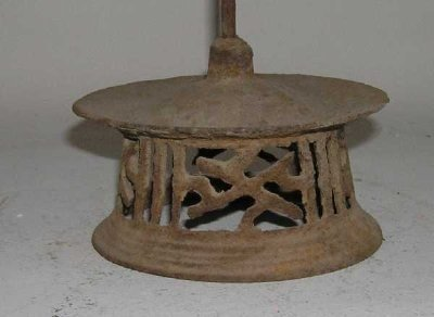ShanXi Iron Lamp Stands