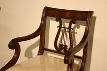 Lyre Back Dining Chairs | Harp Back Dining Chairs