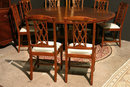 Edwardian/Georgian Mahogany Dining Room Inlaid Chairs