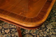 Extra Large Mahogany dining room table 14 foot with leaves/extensions