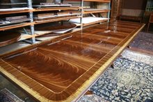 Mahogany Dining Table | 16 Foot Dining Table | Extra Large Mahogany Dining Room Table