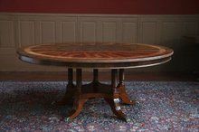 72 Round Dining Table | Mahogany Round Dining Table
