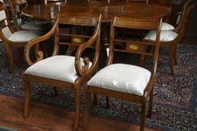 Duncan Phyfe dining chairs
