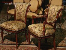 Mahogany Dining Chair | Grand Providence Upholstered Dining Room Chairs