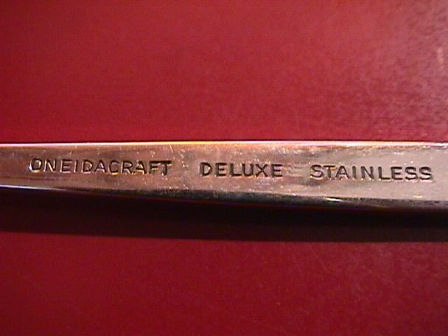 Oneidacraft Delux Stainlesss