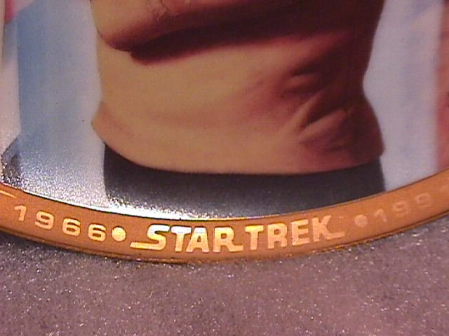 Hamilton Collection 1966-1991 Startrek Display Plate
