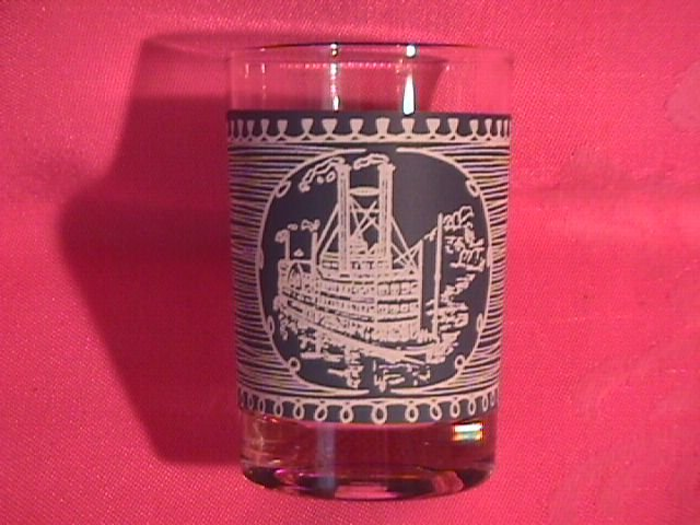 Royal=Currier & Ives Glassware Juice Glass