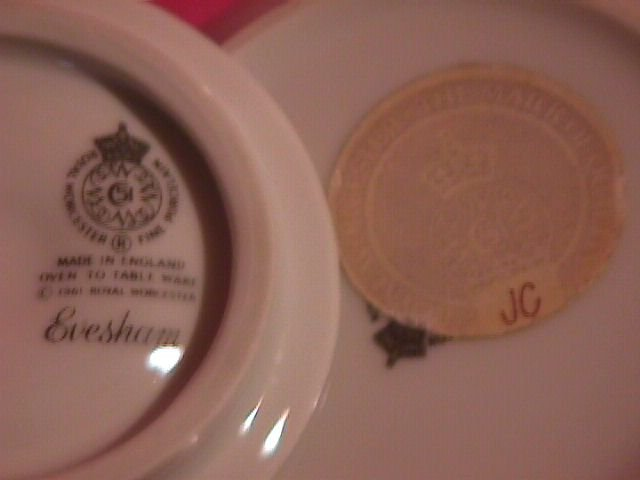 Royal Worcester Porcelain (Flat-Top)