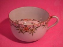 Nippon Porcelain Mustache Cup