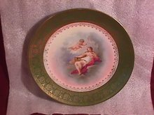 Austria Porcelain Display Plate