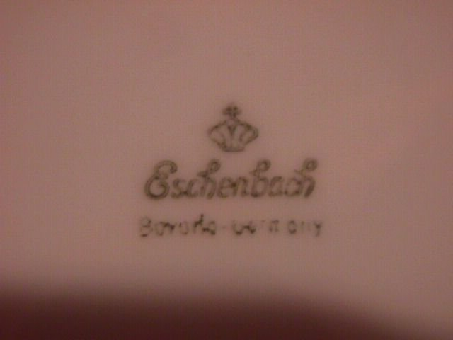 Eschenbach Bavaria Porcelain Dessert Plate