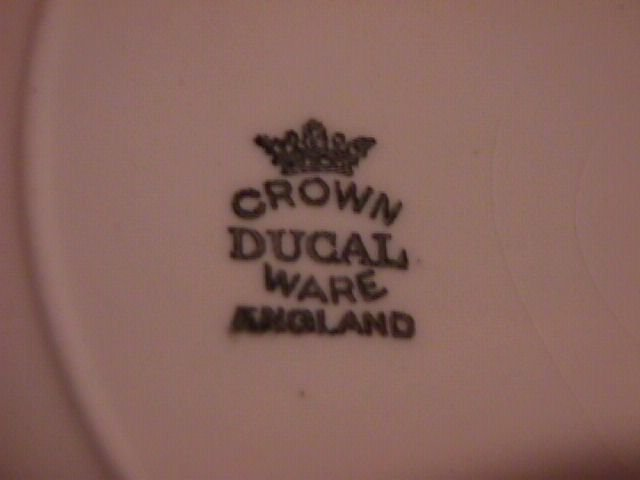 Crown Ducal China