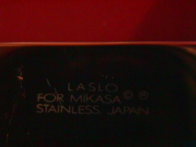 Mikasa Stainless by Larry Laslo