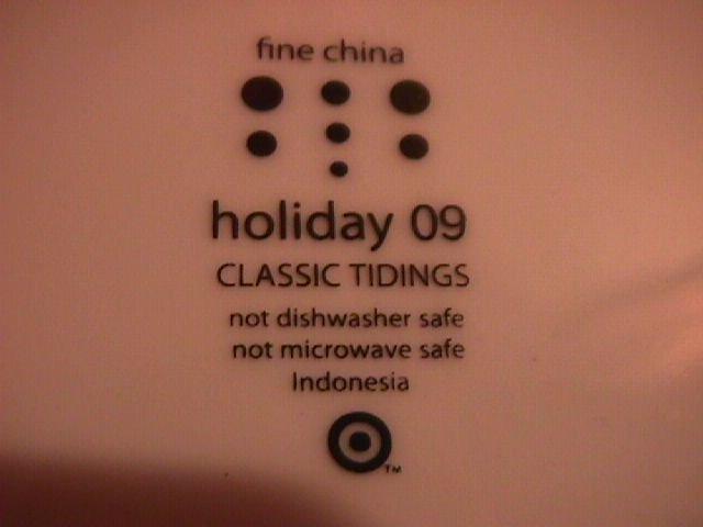 Holiday 09 Fine China