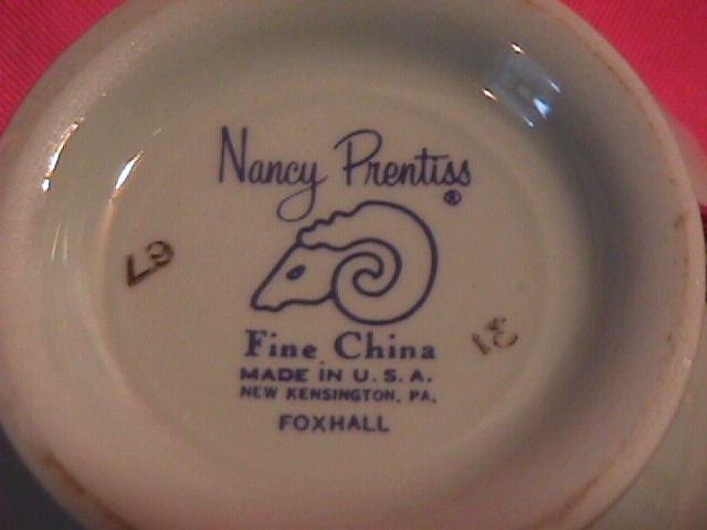 Nancy Prentiss China