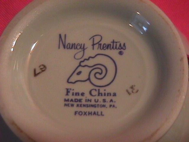 Nancy Prentiss China
