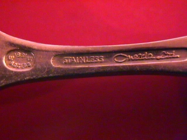 Oneida Limited 1881 Rogers Stainless