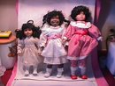 Three Adorable African-American Dynasty Dolls