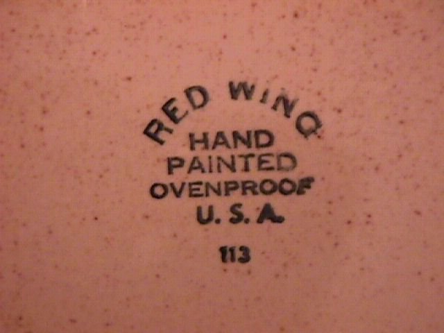 Red Wing China