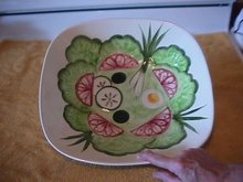 Los Angeles Potteries Salad Serving Bowl
