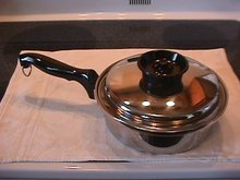 Chef's Ware-Townecraft  Stainless  Saucepan